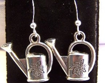 Watering Can Dangle Earrings - Free Shipping to US - (0939)
