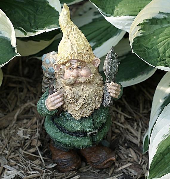 """Garden Gnome 11"""" Resin Outdoor Decoration"""