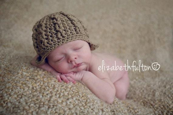 CROCHET HAT PATTERN-Sand Dunes Cable Hat,newborn crochet pattern,photo prop,crochet hat pattern,crochet pattern,cable hat pattern