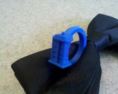 Doctor Who TARDIS ring 3D Printed