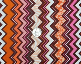 Friends Fur Ever Chevron by M'Liss - Fabric by the Yard