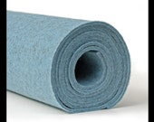"100% Merino Wool Felt - 3mm - 12"" X 12"" - Ice Blue"