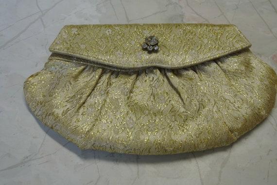 Vintage Britemode Gold Clutch