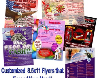 Customized Flyer Design Services