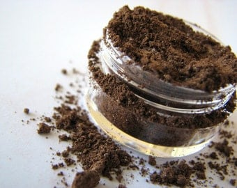 Sepia - Mineral Makeup - Brown Mineral Eyeshadow - Natural Eye Pigment - Home and Living