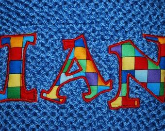 INSTANT DOWNLOAD Gadzoox Applique Machine Embroidery Design Font