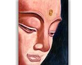 Oil painting Buddha, original painting