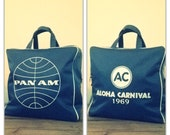 Rare Vintage PAN AM Flight Bag - 1969