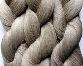 Linen Yarn Natural gray 400 gr (14.1 oz ), Cobweb / 1 ply, each hank contains approximately 4000 yds