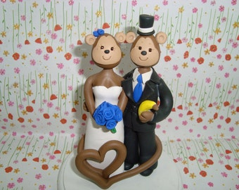 Customized Monkey Cake Topper