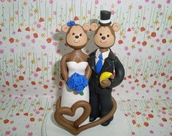 Customized Monkey Cake Topper