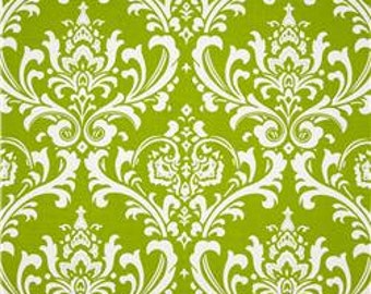 Table Runner.Green  Table Runner. Damask Table Runner-Green & White Damask Table Cloth.Table Runner, Placemat or Napkin