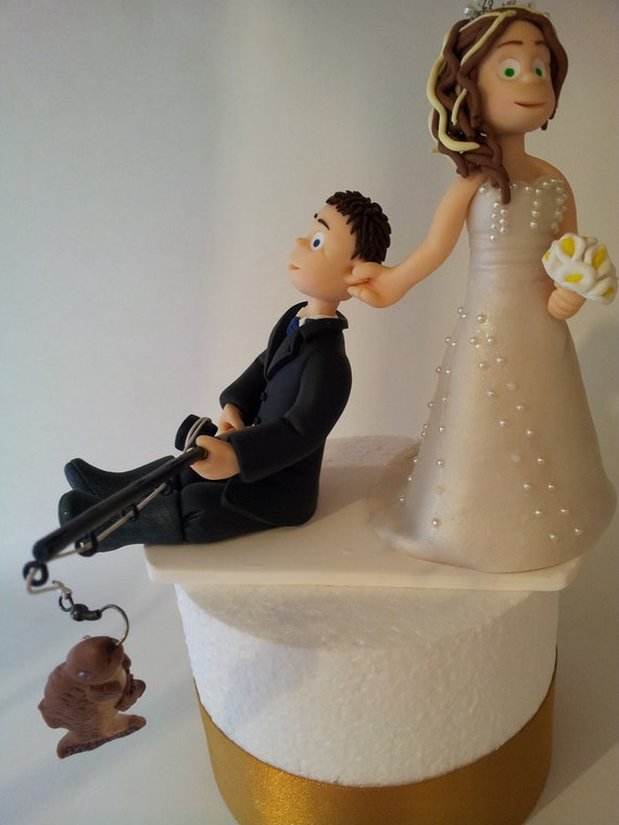 Items Similar To Personalised Handmade Bride And Groom Wedding Cake Topper Ooak Bespoke Military