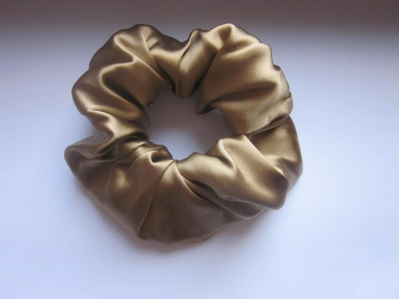 Summer Sale !!! Silk Hair Scrunchie
