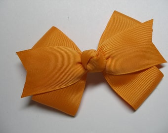 Tennessee ORANGE Hair Bow Back to School Uniform Cheer Halloween