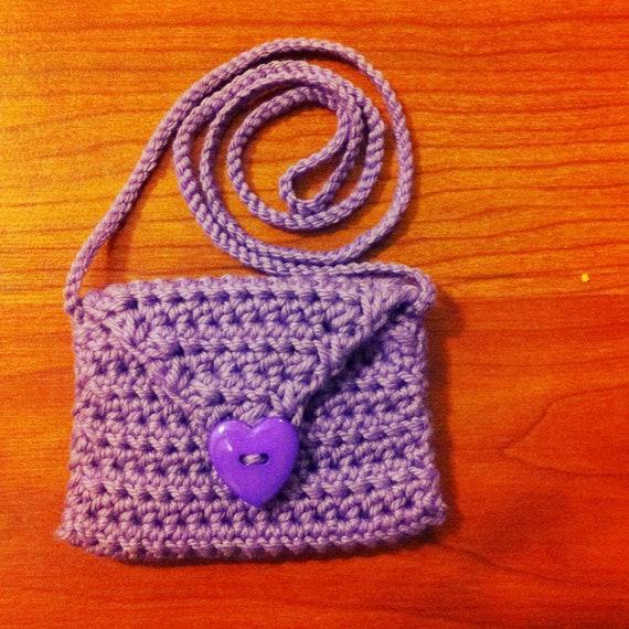 Purple Heart Toddler/Child Purse