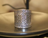 Water Waves Sterling Silver Ring