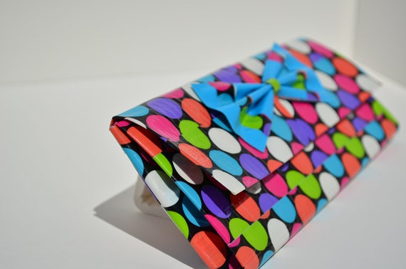 Items Similar To Polka Dot Duct Tape Wallet On Etsy