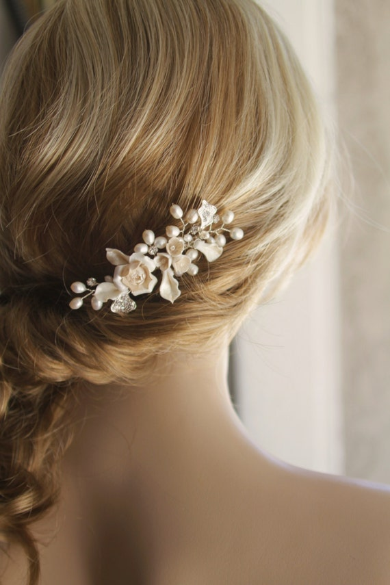 Bridal Hair Comb Wedding Decorative Combs Bridal Hair
