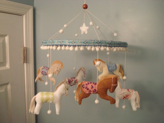 All The Pretty Little Horses Carousel Horse Or Pony Baby