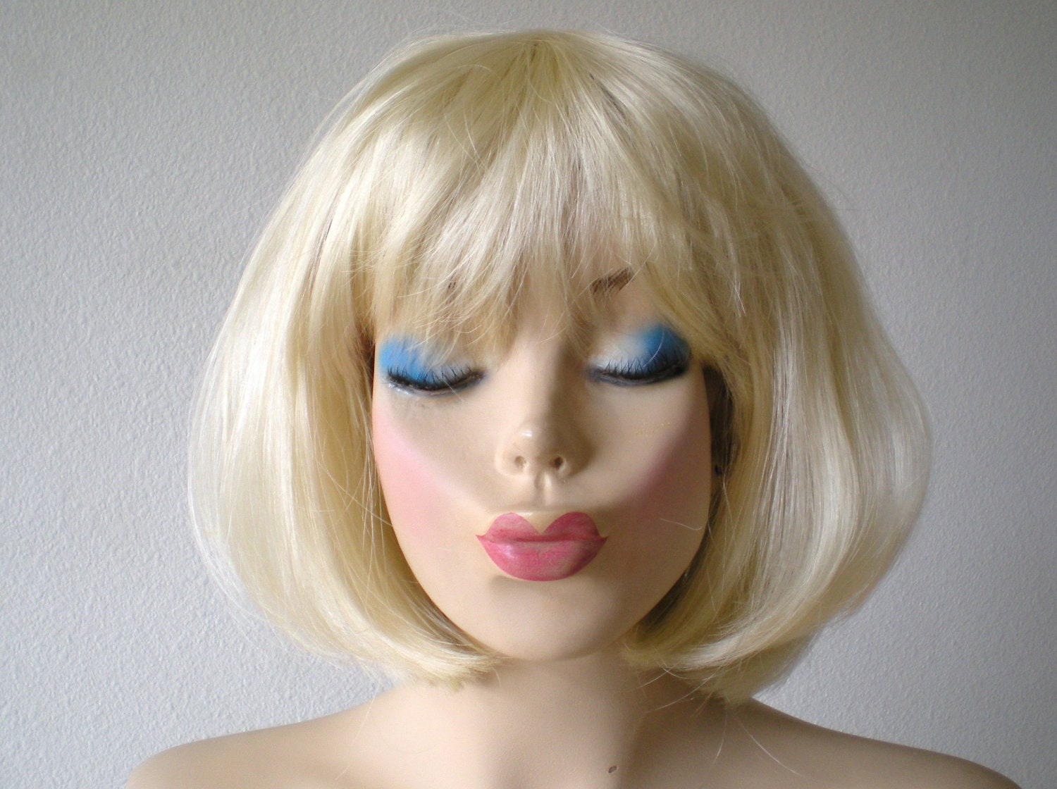 With A Blond Wig 51