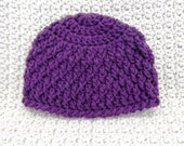 Handmade Deeply Textured Hat 3 To 6 Months Ready To Ship