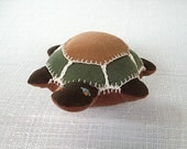 Soft Toy Turtle, Stuffed Animal Organic Cotton, Waldorf Toy