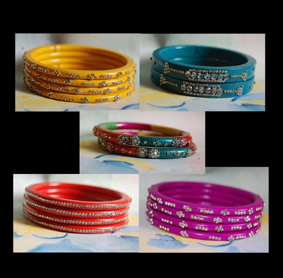 Set 1 of lac bangles
