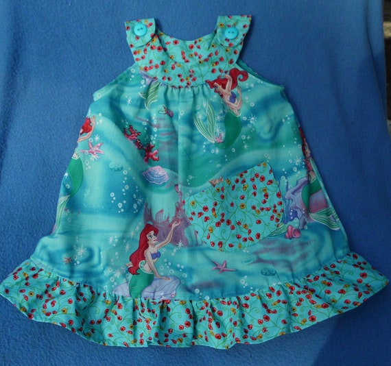 Girls Little Mermaid Dress