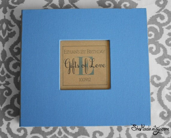 Wedding Gift Record Book: Items Similar To Custom Gift Log Book, Perfect For Bridal