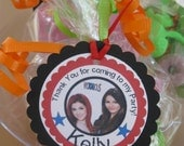 Victorious - Cat - Jade - Beck-Goody Bag Tags -Goodie Bags- Party bag tags - birthday party -set of 12 - cupcake qt