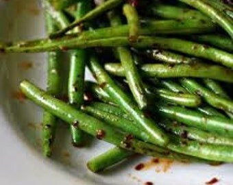 Gourmet Green Beans, Stringless, Nutritious Too, 20 Seeds