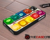 iPhone case WaterColor palette set iPhone 4s and iPhone 4