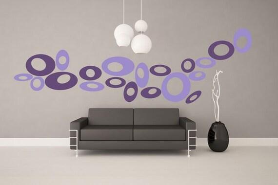 Wall Sticker Ovals (157n)