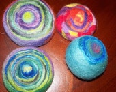 felted pin cushins
