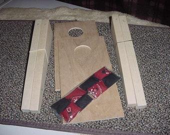 Tabletop Cornhole Game Wood Kit   (Spring  Sale)