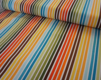 Remix Stripe in Bermuda by Ann Kelle for Robert Kaufman Fabrics - price is by the yard