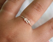 SALE Infinity Ring, Friendship Ring, Bridesmaid gift, Best friend, Promise Ring, Love ring