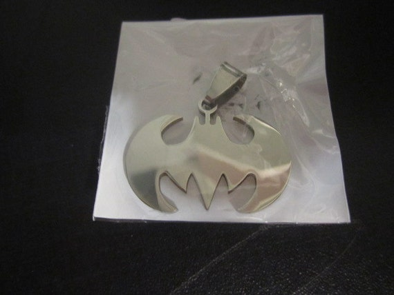 batman stainless steel charm,pendant