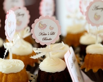 Soft and Sweet Mini Cupcake Toppers