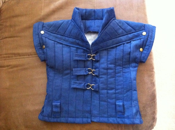Flynn Rider Vest (18months - Childs XL) Costume
