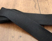 RESERVE LISTING: 7 x 3,3 yards black cotton braid