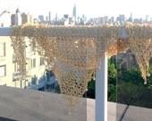 Wedding Shiny Shawl,Hand Made Sun Rise Gold Shawl Beaded - New Style, Elegant, Evening Gold  Shiny Shawl , Autumn Gold
