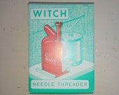 Vintage Witch Needle Threader, West Germany