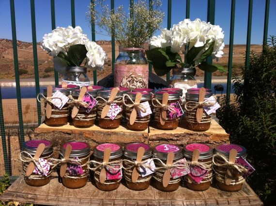 Reserved Rush Order: 10 Organic Sugar Body Scrubs in 8 oz Mason Jars with Twine.