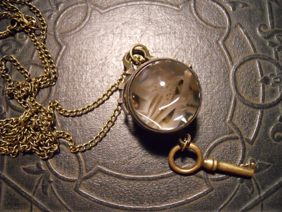 RESERVED FOR ADIFFERENTANGEL Mouse Skull Bones Orb Ossuary Necklace Steampunk Key