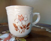 Vintage Mug Set //// Hearthside Cumberland Mayblossom Mugs - Set of 6