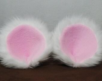 Clip-On Polar Bear Ears and Tail