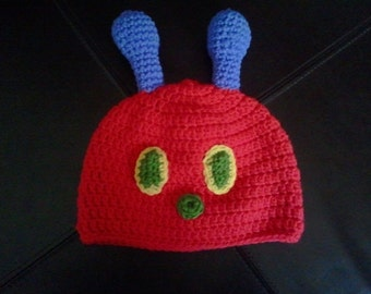 READY to SHIP Hungry Hungry Caterpillar Hat