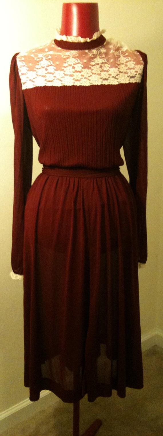 Vintage Designer Blouse and Skirt Set